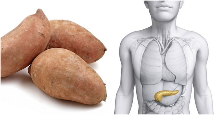 Sweet potato and pancreas, foods that look like the body part they're good for, by healthista