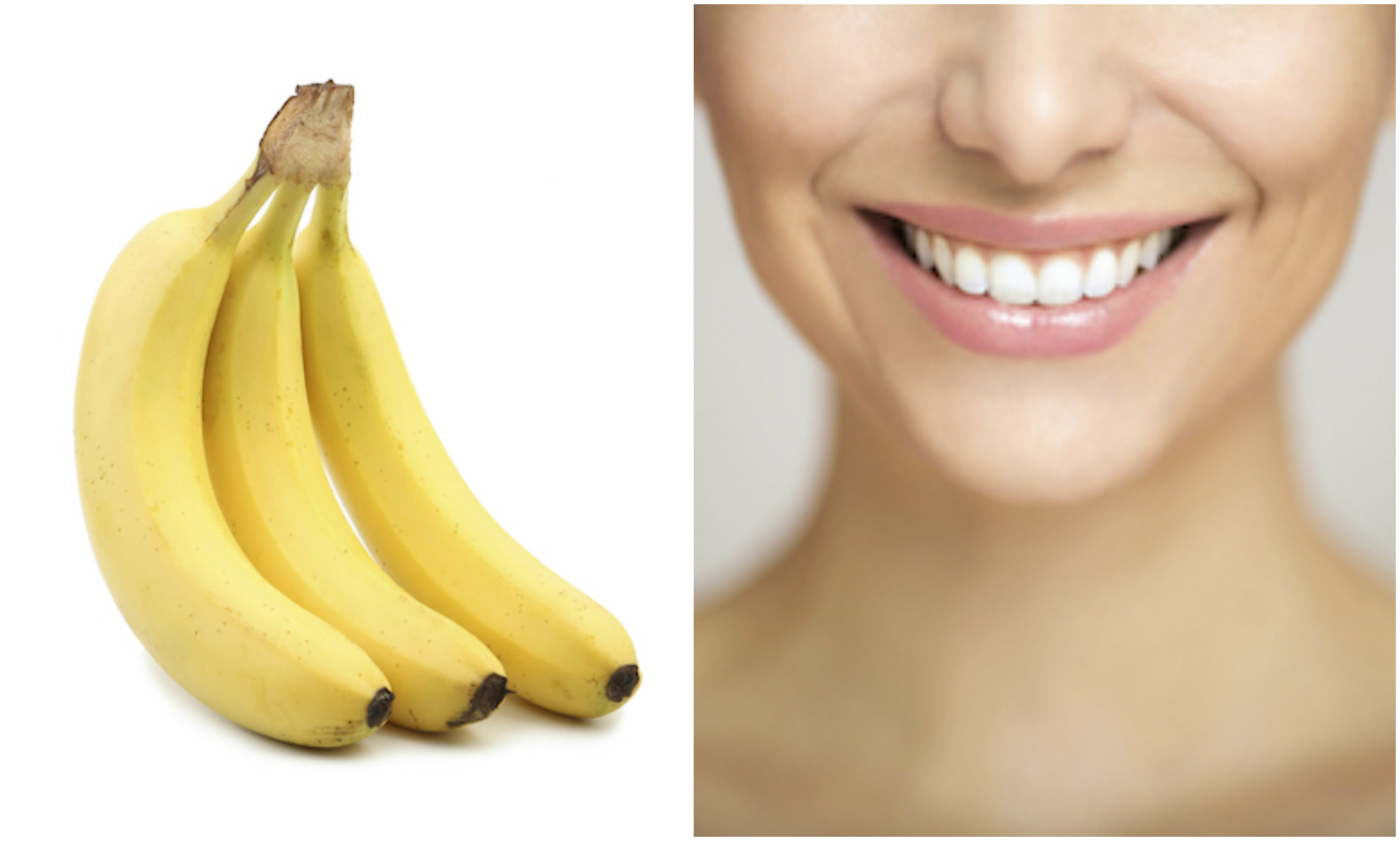 banana and smile, foods that look like the body part they're good for, by healthista