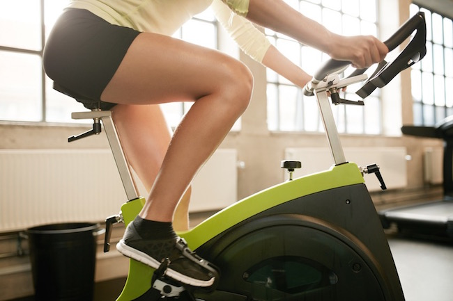 exercise bike, how to lose weight David Kingsbury, by healthista.com
