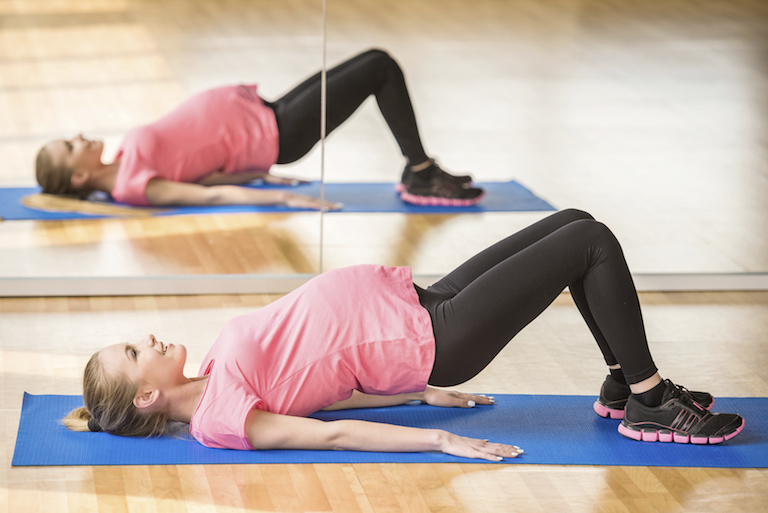 pregnant pelvic exercise, by healthista