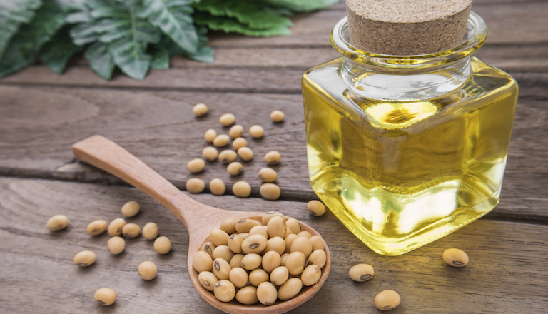 soybean oil, 9 healthy fats to help you live longer, by healthista