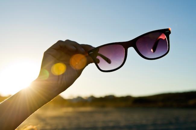 sunglasses, desert island, by healthista.com