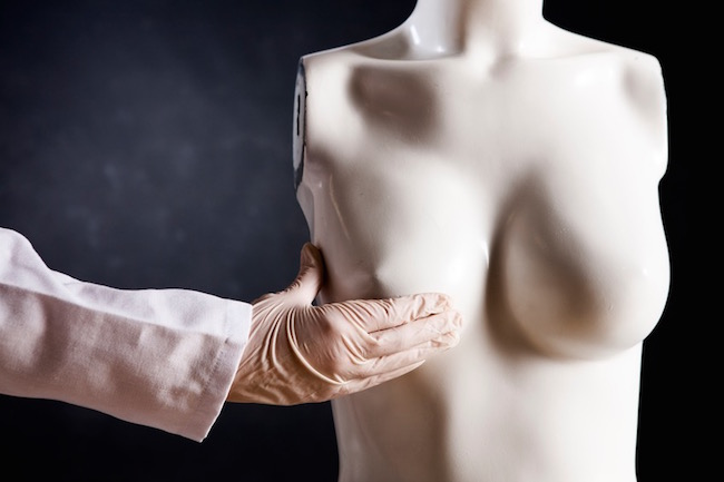 breast examination, what to do about breast lumps, by healthista.com