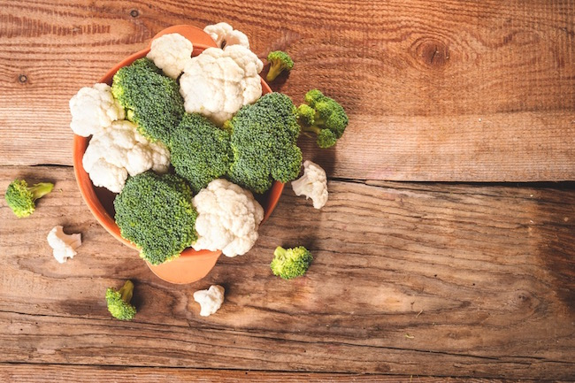 broccoli & cauliflower, what to do about breast lumps, by healthista.com