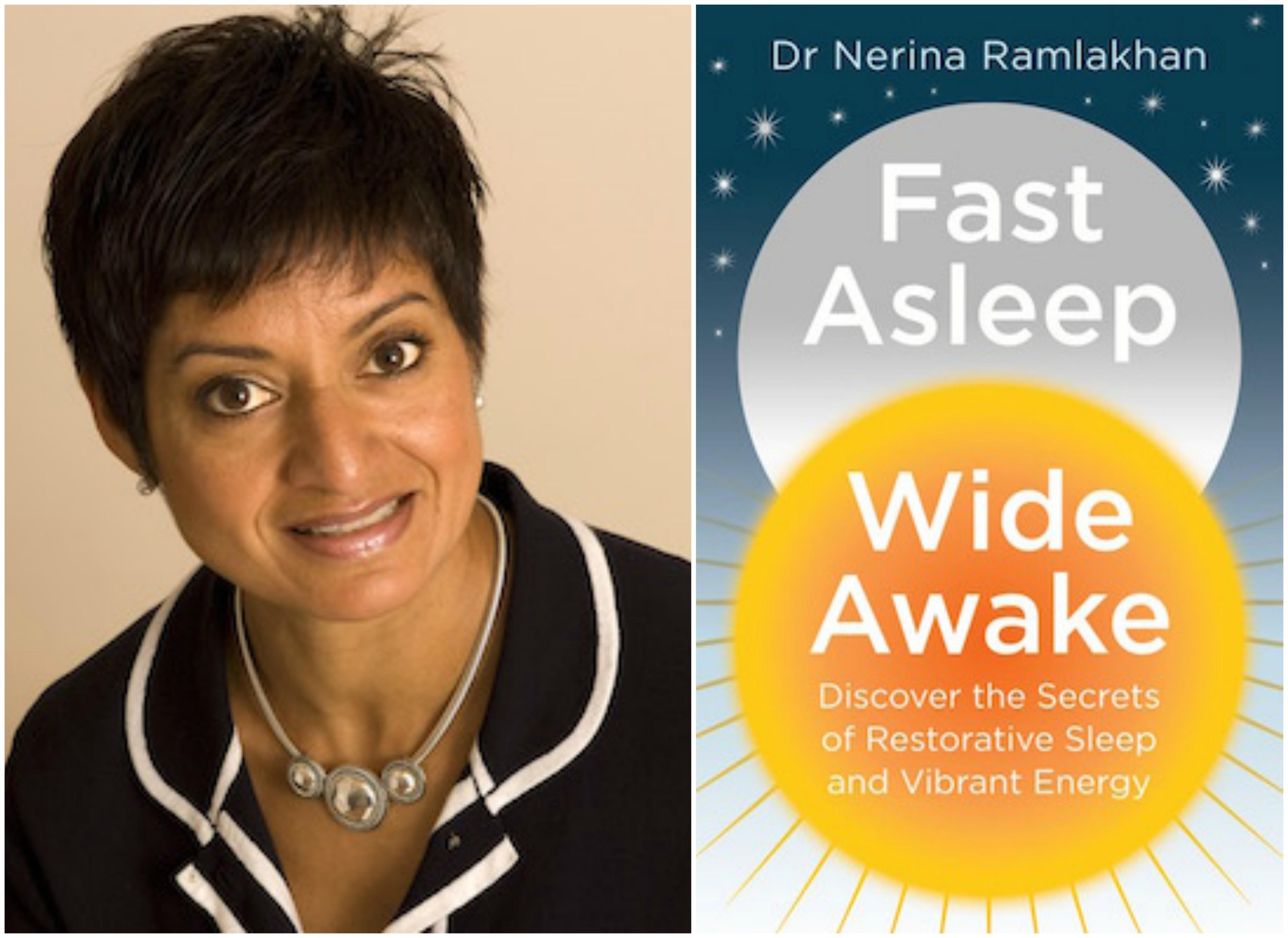 fast asleep wide awake, dr nerina ramlakhan, how sleep perfectionism is keeping you awake, by healthista.com