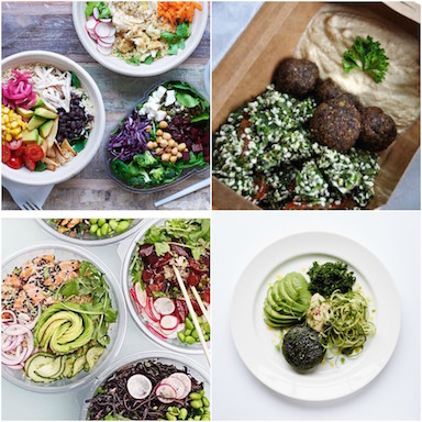 featured image, best healthy restaurants in London, by healthista.com