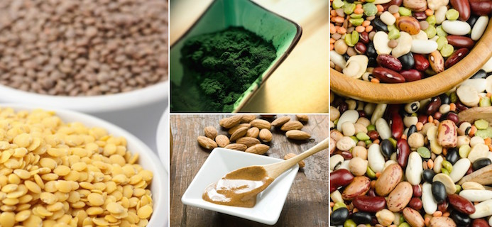 plant-based protein slider