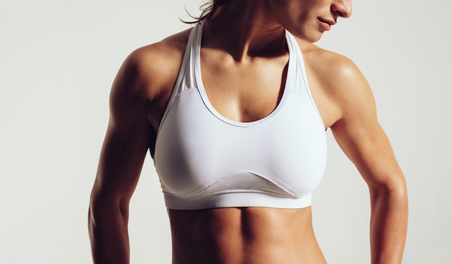 sports bra, what to do about breast lumps, by healthista.com