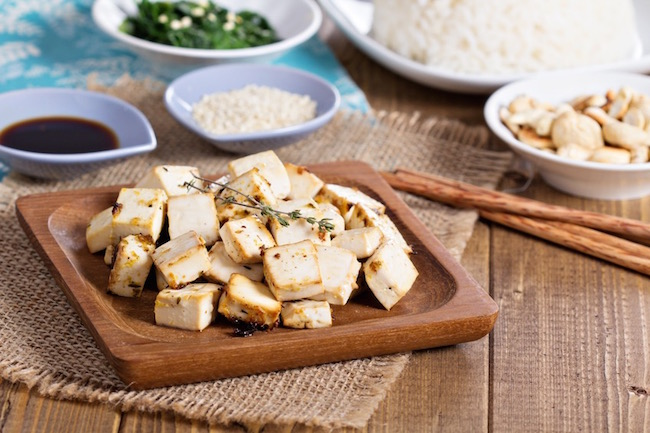 tofu, plant-based protein, by healthista.com