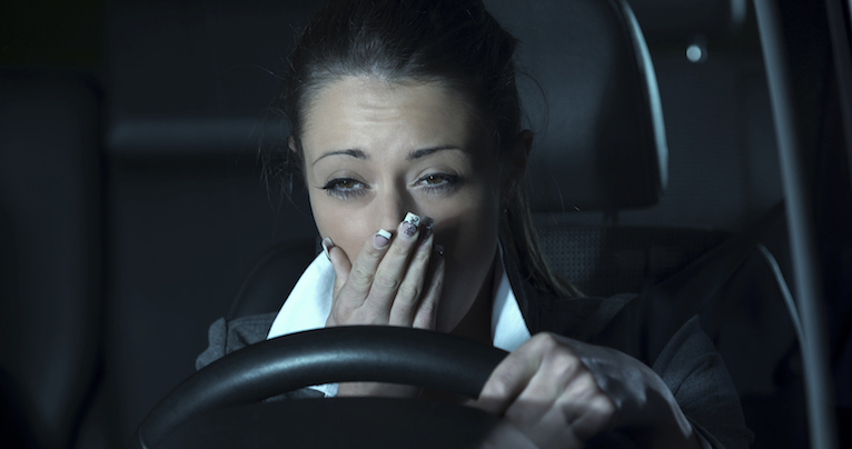 woman tired driving, how to make your body clock work for you, by healthista.jpg