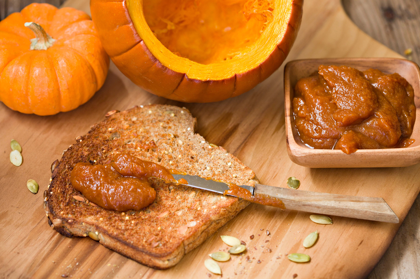 Pumpkin Butter, 23 pumpkin recipes for national pumpkin day by healthista.com