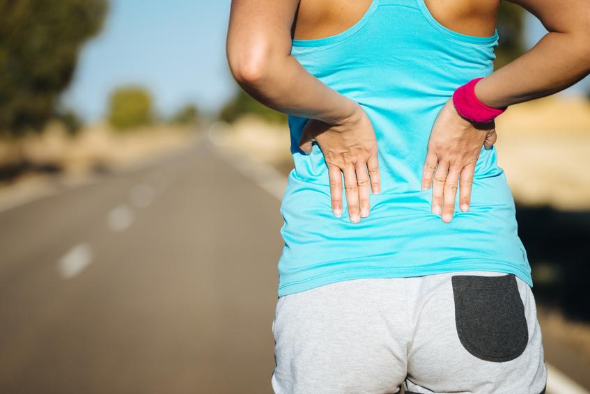 running exercise, back pain, healthista.com