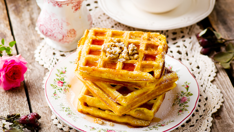 waffles-23-pumpkin-recipes-that-will-go-down-a-treat