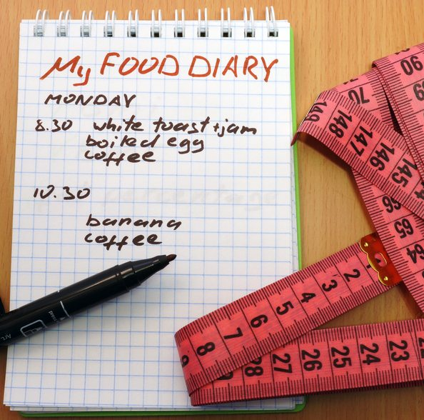 how to stay on track with your diet, blow it before midday, may simpkin, by healthista.com