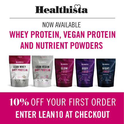 Healthista NEW 10% Discount Protein Superfood powders
