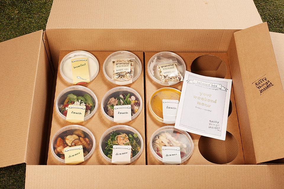 Balance box, Best delivery services in London by healthista