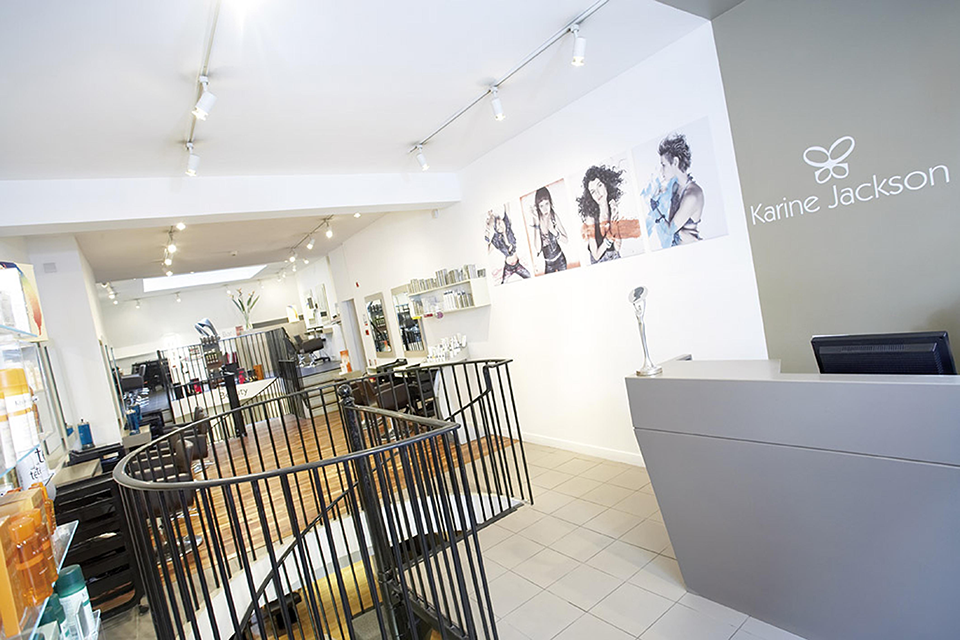 Karine Jackson salon, Healthista reviews London's vegan friendly hairdressers, plus THE hair trend to look out for in 2017 by healthista