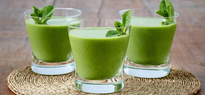 60 second smoothies best smoothie for energy soothing mint lemonade