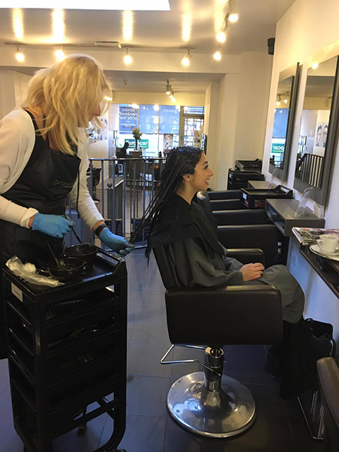 karine jackson, Healthista reviews a vegan-friendly salon, plus THE hair trend to look out for in 2017 by healthista