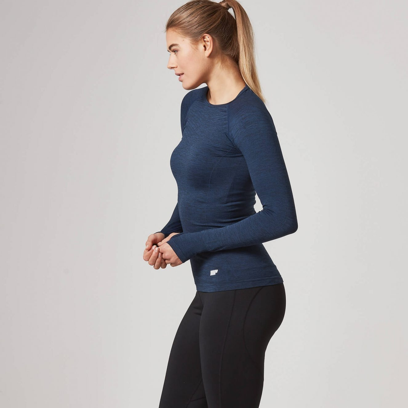 myprotein seamless long sleeved top, by healthista.com