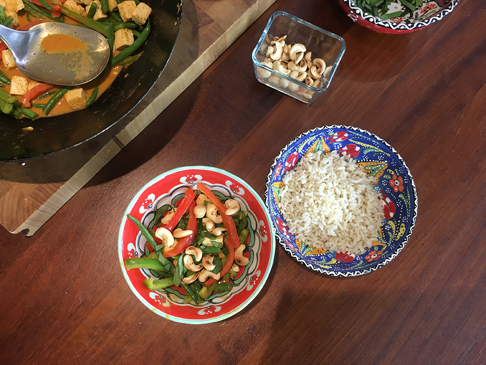 tofu curry, Meat free Monday recipe Tofu Pad Prik Curry from Alli Godbold by healthista