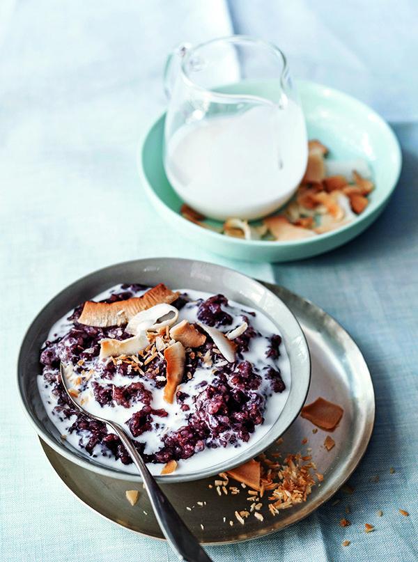 Black Rice Coconut Pudding