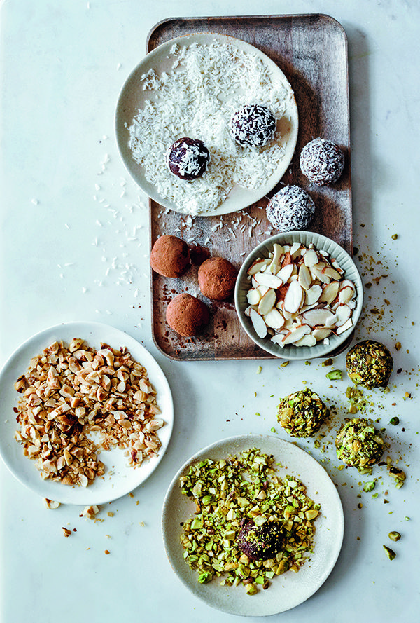 3 sweet treat chocolate recipes that are good for your skin, Vegan Chocolate and Avocado Truffles, by healthista (3)