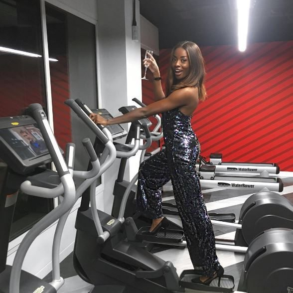 AJ Odudu is our fitspiration this week, and this is how she stays healthy, by healthista.com