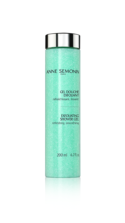Anne Semonin Exfoliating Shower Gel, 6 best body scrubs without micro beads by healthista