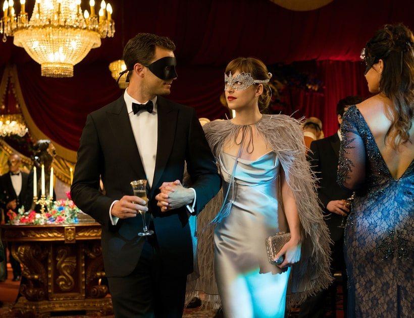 Jamie Dornan and Dakota Johnson Fifty Shades Darker Healthista
