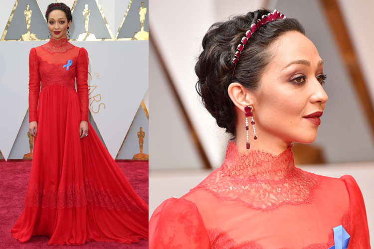 Ruth Negga's makeup artist reveals how to get her red carpet look, by healthista (3)