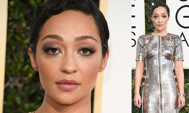 Ruth Negga's makeup artist reveals how to get her red carpet look, by healthista , golden globes