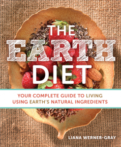 The earth diet front cover, What I've learned from my 4 week vegan challenge PLUS the best vegan cookbooks by healthista