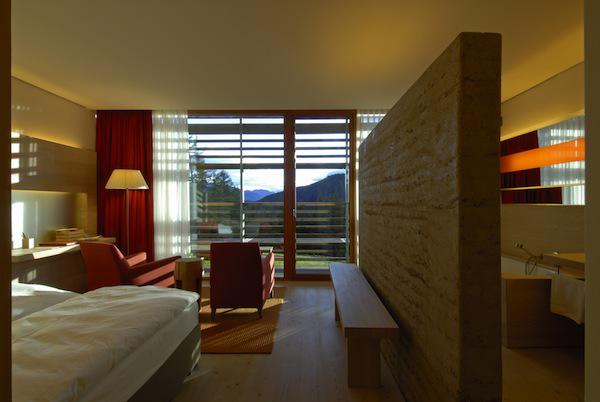 bedroom spa, Spa of the week Vigilius Moutain Resort, Italy by healthista