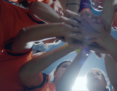 female footballers middle east, new nike advert by healthista
