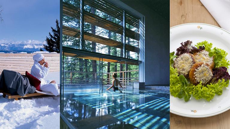 luxury spa Vigilius Mountain resort Spa of the week Vigilius Mountain resort by healthista