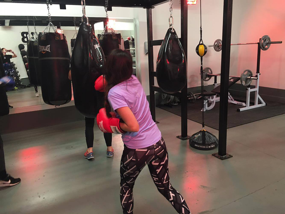 parisa punching bag, Boxing boutiques the biggest fitness trend for women right now by healthista