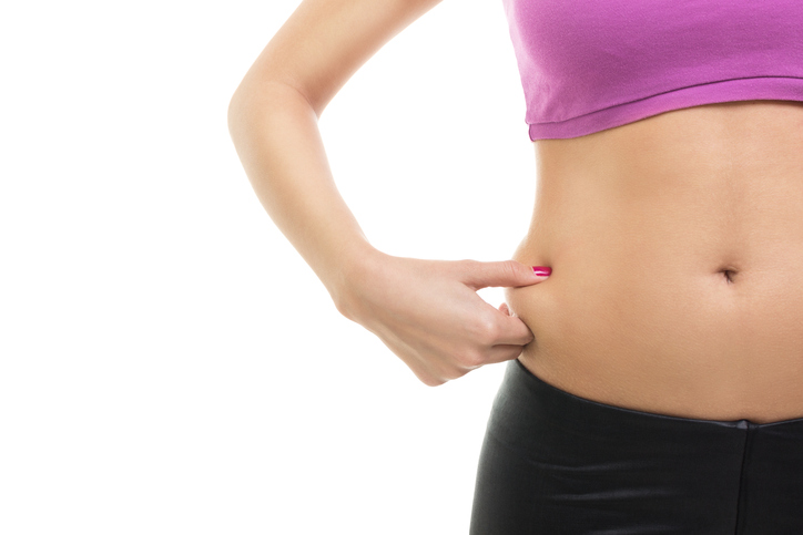 pinching belly fat, are these 4 hormones blocking your weight loss by healthista