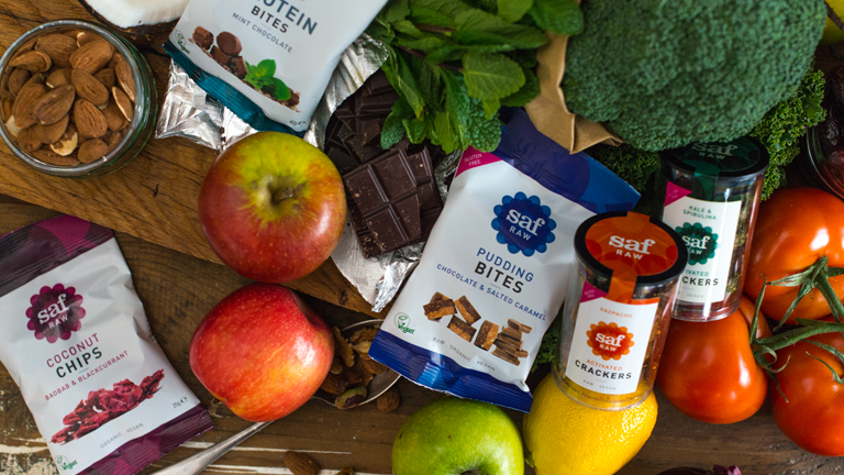 saf bites main image, WE LOVE saf raw snacks by healthista