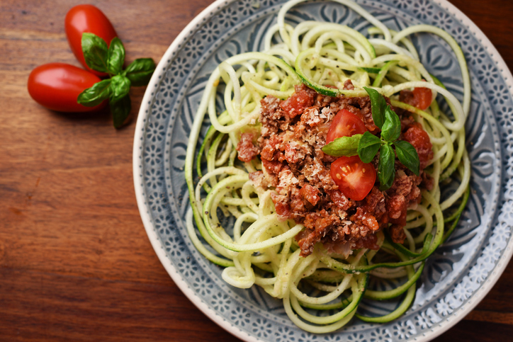 vegan courgetti, What I learned from my 4 week vegan challenge PLUS the best vegan cookbooks by healthista.com