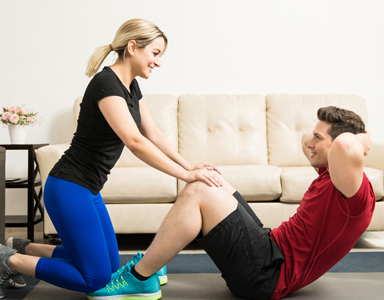 20 minute abs workout for couples