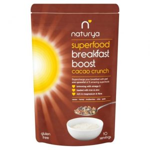 Breakfast Boost Cacao Crunch 150g healthista shop