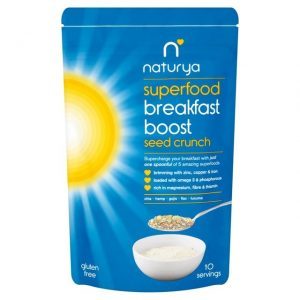 Breakfast Boost Seed Crunch 150g healthista shop