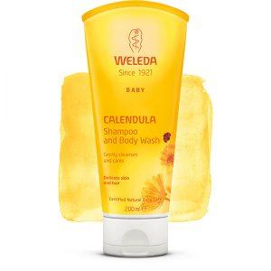 Calendula Shampoo & Body Wash 200ml healthista sho[