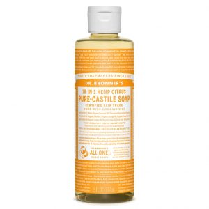 Citrus Castile Liquid Soap 237ml healthista shop