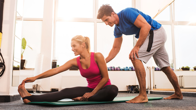 How To Stretch With Your Partner Couples Workout Series Healthista