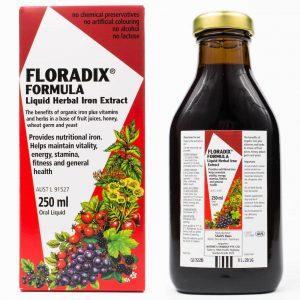 Floradix Liquid Iron Formula 250ml healthista shop