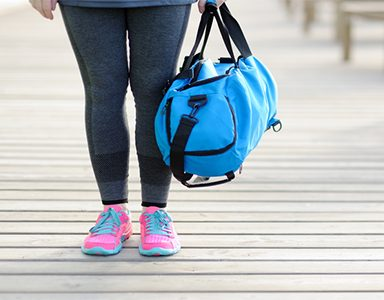 Gym bag must haves. Featured. Healthista