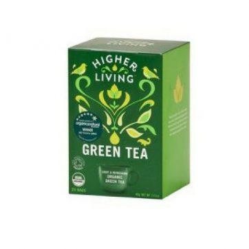 Higher Living Green Tea Healthista Shop Web