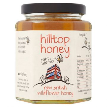 Hilltop Honey raw british wildflower honey healthista shop